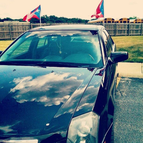 That Boricua Flag!  (Taken with Instagram)