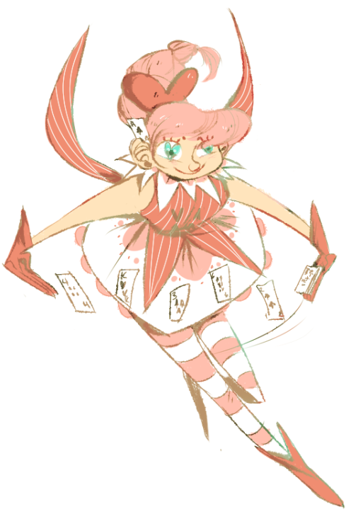 mahou shoujo or dealer at craps table that makes a lot of friendship speeches, you decide