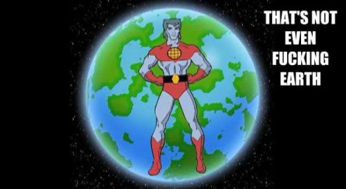 Captain Planet Not Defending Earth This is going to be quite a shock to Kwame.
