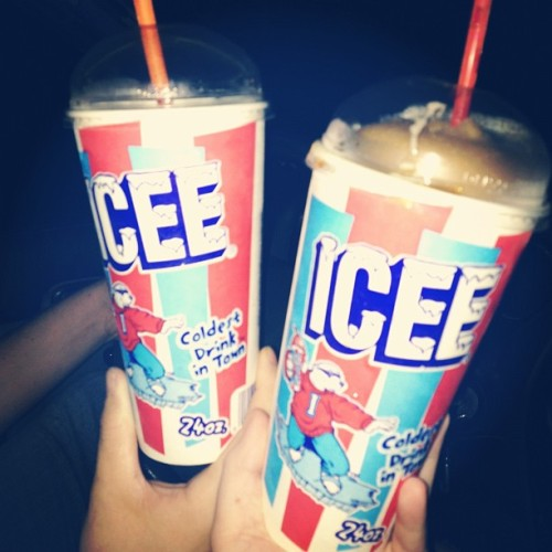 Slushieee time #boyfriend #icee #cola  (Taken with Instagram)