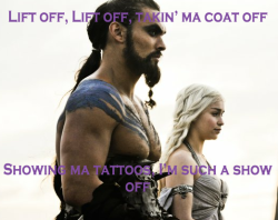 Lift Off ~ Watch the Throne Khal Drogo & Daenerys Targaryen ~ Game of Thrones