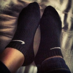 Buy two and get one for free~ #socks#nike#running#idaily#picoftheday#instalove#instahub#instagood (Taken with Instagram)