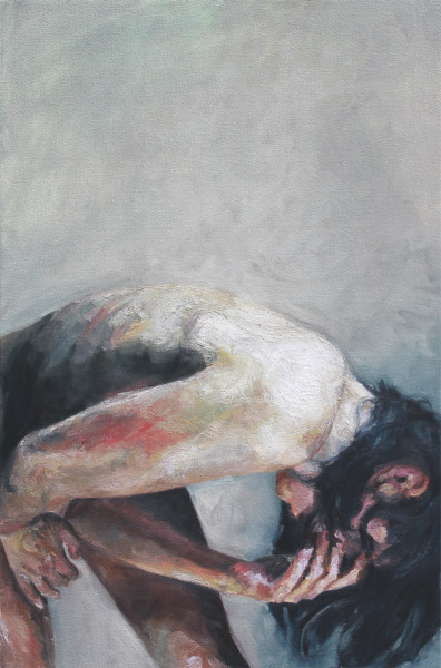 felixinclusis:  gaksdesigns: Intrusive Thoughts by Cara Thayer & Louie Van Patten. Oil on Canvas