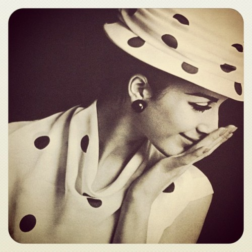 Polkadots from a 1960's magazine (Taken with Instagram)