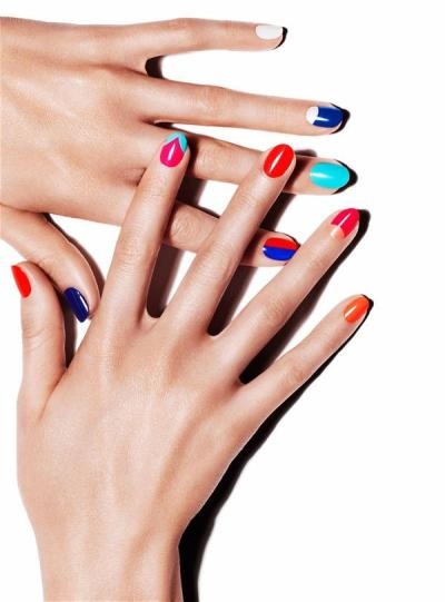 how i'll have my nails painted next time…a little daring, a little fun, a whole lot of color~