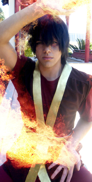 And having my actual brother cosplay my brother Zuko is always a plus!!