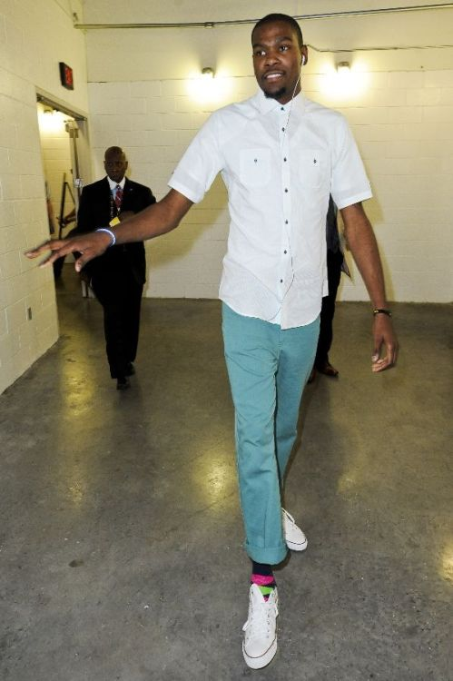 Kevin Durant's socks. Yes.