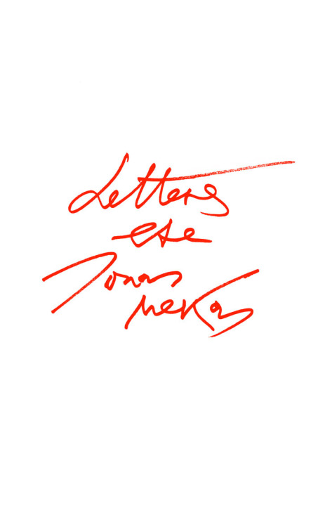 calicogrounds:  Letters Etc. by Jonas Mekas is a collection of letters from Jonas Mekas to friends. Printed as it was sent, typed from his home in New York, Jonas's letters touch on many subjects. The turn of the century, mortality, and the illness of Stanley Brakhage. Jonas is known as the Godfather of Avant-Garde Cinema, and has done projects with Ginsberg, Dali, Ono & Lennon, Maya Deren. It is truly an honor to release this booklet to the world. Read more about Jonas HERE. Calico Grounds #18Edition Of 100