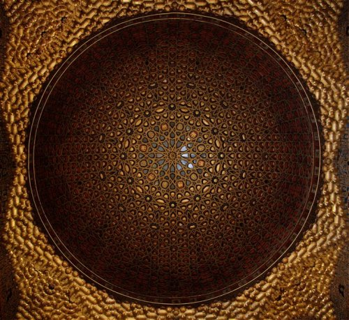 Dome in the Palacio de Don Pedro, Alcazar, Seville - photograph (c) Paul Dobraszczyk http://ragpickinghistory.co.uk/