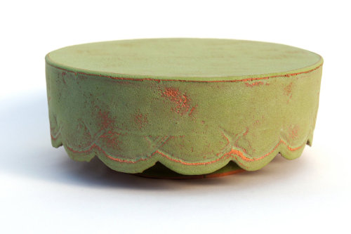 Green Cake Stand - Sunshine Cobb