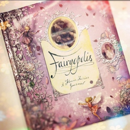 Got this book a while back ago. It's a book about fairies which inspires me a lot!!   #fairytales #fantasy #prettythings #fairy (Taken with Instagram)