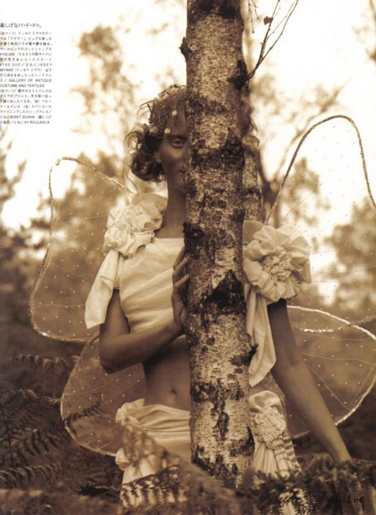 'Tinker Belle's Forest' by Koto Bolofo for Vogue Nippon