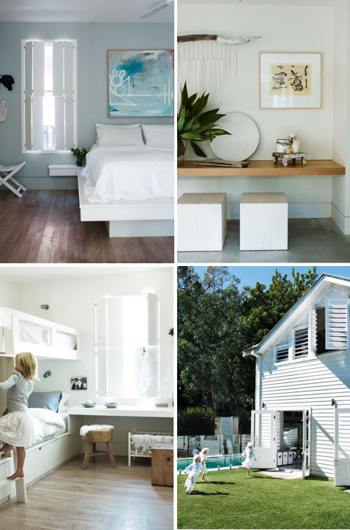a beautiful beach cottage in australia danielle, style-files.com This charm­ing beach home, locat­ed in Syd­ney, was once a fish­er­man's cot­tage. The beach side mood can be found through­out the entire house. Hugh win­dows and slid­ings doors join the indoor and out­door areas. The pol­ished con­crete…
