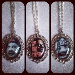 House of 1000 Corpses Cameo Necklaces!