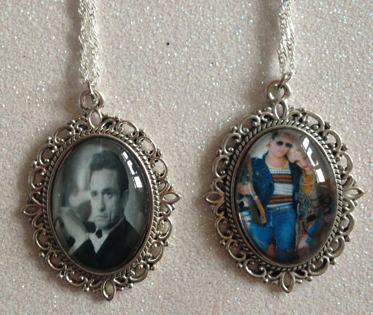 Here are a couple of custom necklaces I made at the weekend! If you would like anything personalised made please message me :)