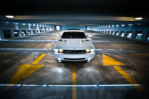 One way or another Starring: Dodge Challenger (by John Burdumy)