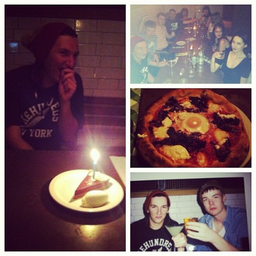 Surprise birthday meal - success!  (Taken with Instagram)