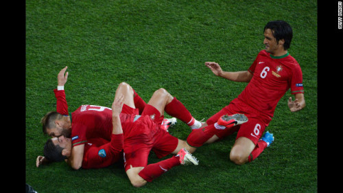 For some reason, Euro 2012 went down as Cristiano Ronaldo's favourite football tournament.