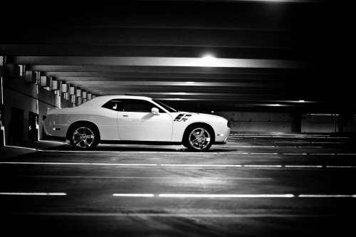 carpr0n:  Ready to pull the trigger Starring: Dodge Challenger (by John Burdumy)