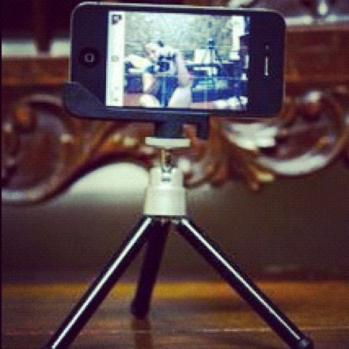 iPhone - Sidekic - Mini Tripod #webstagram #instagramhub #igdaily #igaddict #instadaily #igph #igersph #iphoneonly #iphonesia #iphoneography #igersasia #igersworld #instamood #instagramer #audreyisms #sidekic  (Taken with Instagram)