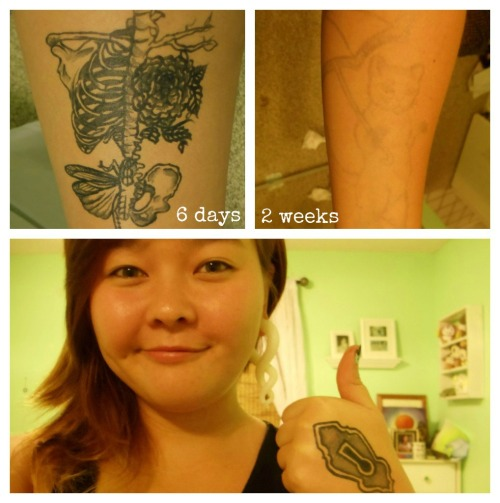 awfulmodifications:   This is a Jagua tattoo. It is a plant-based product, so it's natural.  Seeing all of these tattoos, made me want to show you this great product.  My parents have a shop down in waikiki (Hawaii) doing Henna and Jagua tattoos which is, as you can see, temporary.  A lot of people actually come to our shop to see how a tattoo looks on them before they get it permanently done. So i advise you to do the same before you regret it.  If you want, you can check out my parents website arainbowstudio.com.  This is actually a fantastic idea, provided you aren't allergic to the plant based ingredients, so please make sure you're okay to proceed. But still, this is a wonderful idea, especially for people with talent at henna application!