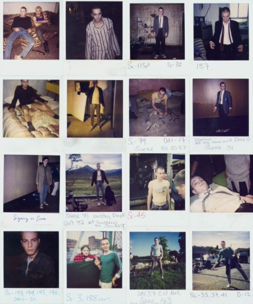 msmrmusic:  Ewan McGregor's On Set polaroids from Trainspotting (1996)
