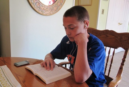 "A mom writes:   ""Daniel was diagnosed with dyslexia when he was in 2nd grade.  He is now an honor student in 7th grade at St. Benedict School in Holmdel  New Jersey.  Because Daniel does not have the opportunity to be in a resource room for literacy, and funding to private schools is limited, Learning Ally was able to fill the gaps.  He has used many of the resources such as books on CDs and downloads on his iPod for reading assignments.  I often show him the success stories that are posted on your website and he asked me why there are no students his age.  Good question! Daniel has earned honor roll for the past two years and has been recommended by a teacher to attend a distinguished conference in Washington DC for academic achievers.  Please consider posting all different age success stories.  This will certainly motivate the younger members of your organization."""