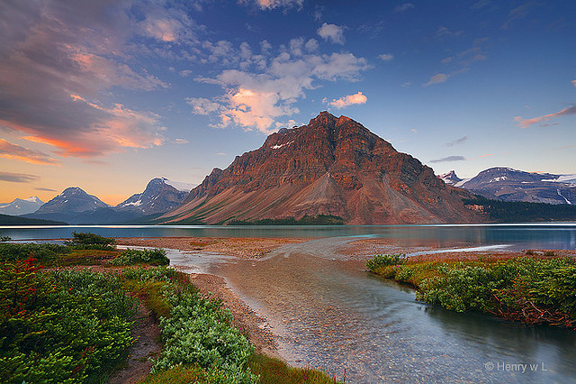Bow Lake 02 by Henry w. L on Flickr.