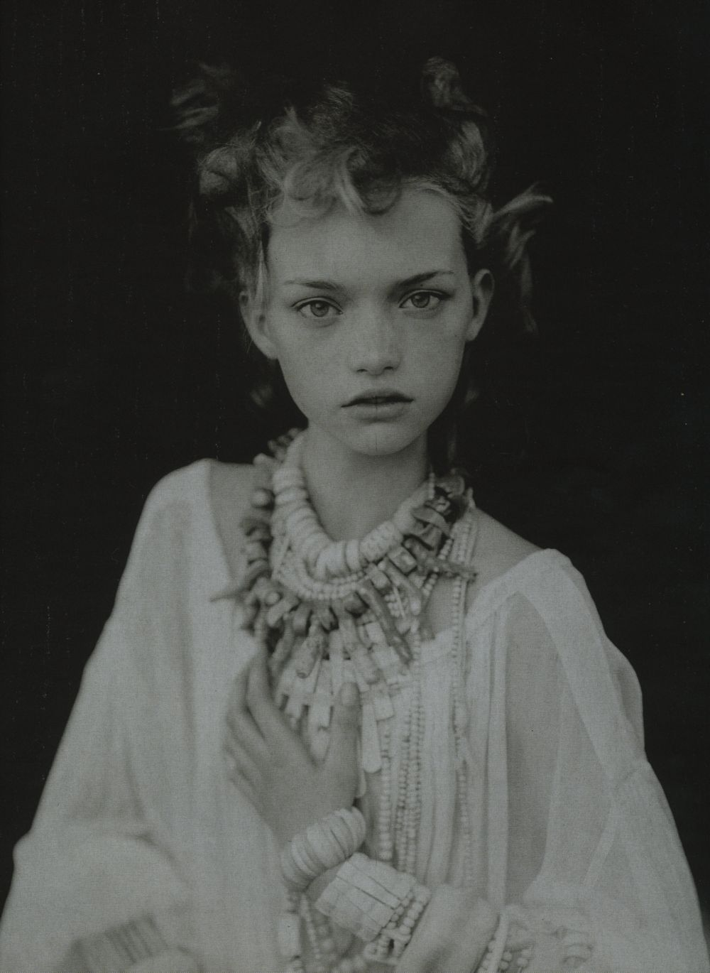 bohemea:  Gemma Ward: Just Enchanting - Vogue Italia by Paolo Roversi, March 2004