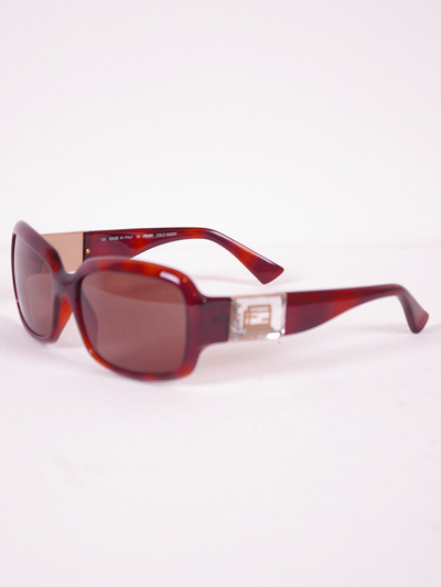 Fendi Classy Designer Brown Sunglasses for WomenMore photos & another fashion brands: bit.ly/JFligj