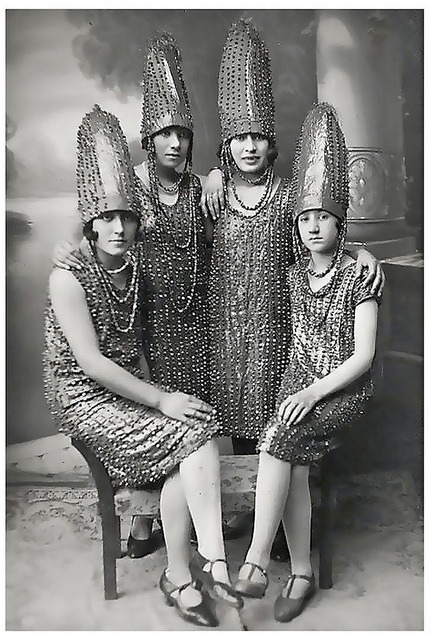 thedaintysquid:  … the pickle girls! by x-ray delta one on Flickr.  Reeeeally ?