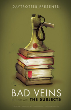 """Bad Veins Poster"" by Julie Hill"