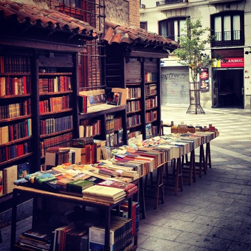 wordpainting:  Corner books