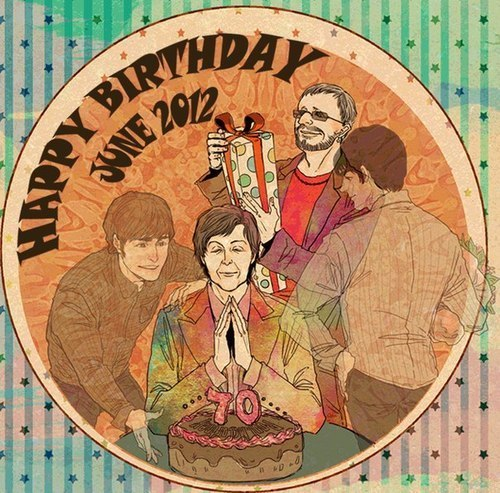 Happy Birthday, Sir Paul!!!