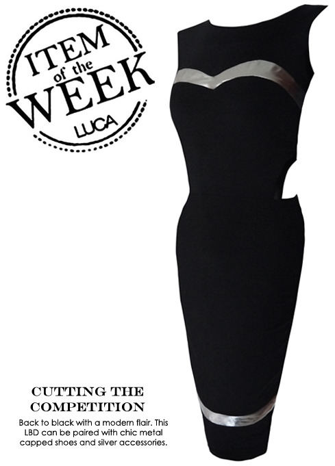 ITEM OF THE WEEK: HELENA DRESS (P2,500) Now available at www.shopluca.com