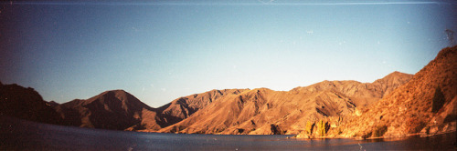 oh the beautiful new zealand mountains! taken with sprocket rocket