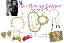 Featured Designer-MELLINA & CO. by fpforfifth featuring bracelets
