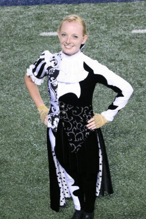 Michelle from Bluecoats guard 2012