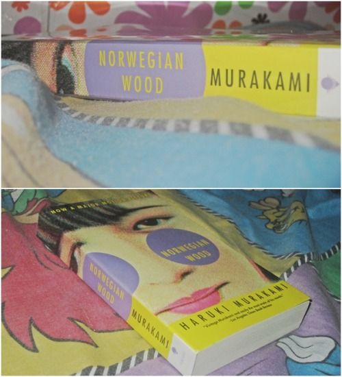 iron-knees:  Currently reading: Norwegian Wood by Haruki Murakami