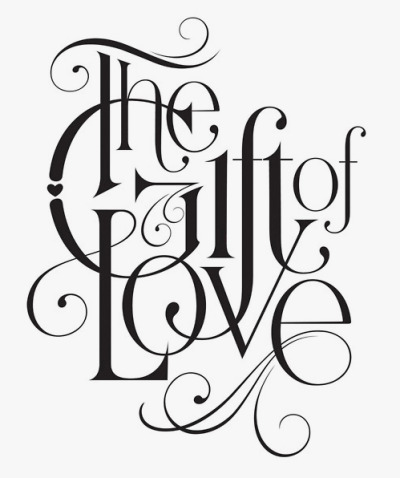 logos-types:  The gift of love by Jessica Hische