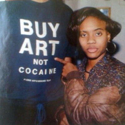 liberationartandcultureworks:  Buy Art not Cocaine…