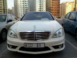 One of da best mercedezz every made…the S-CLASS…mwahh!!