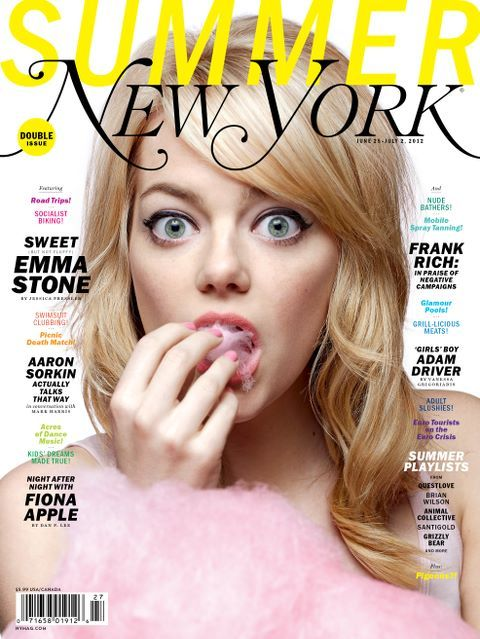 Emma Stone covers New York Magazine
