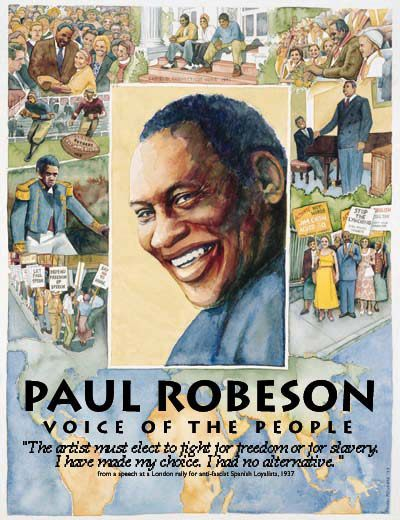 Photo of Paul Robeson  The reason why Paul Robeson would have walked out of Paul Robeson High School