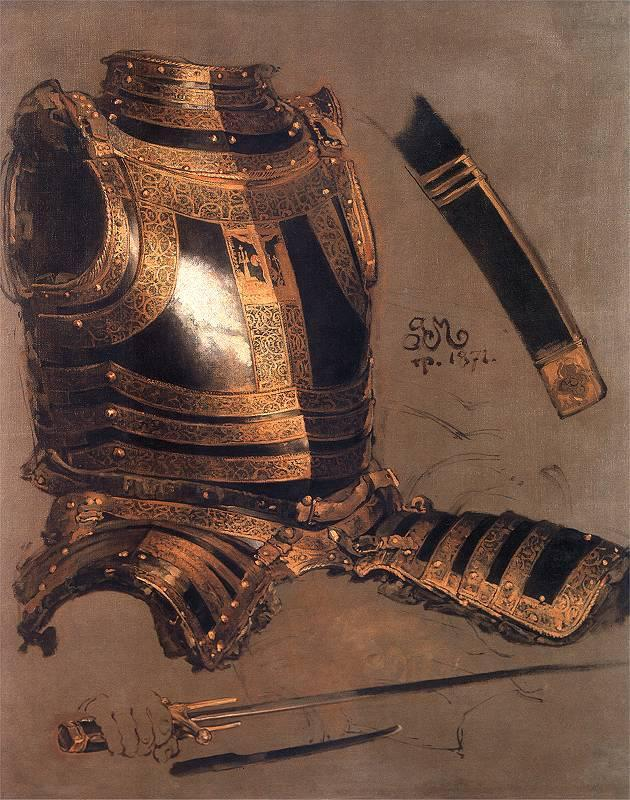 "Jan Matejko - ""Stephen Batory Armour"" (1872)"