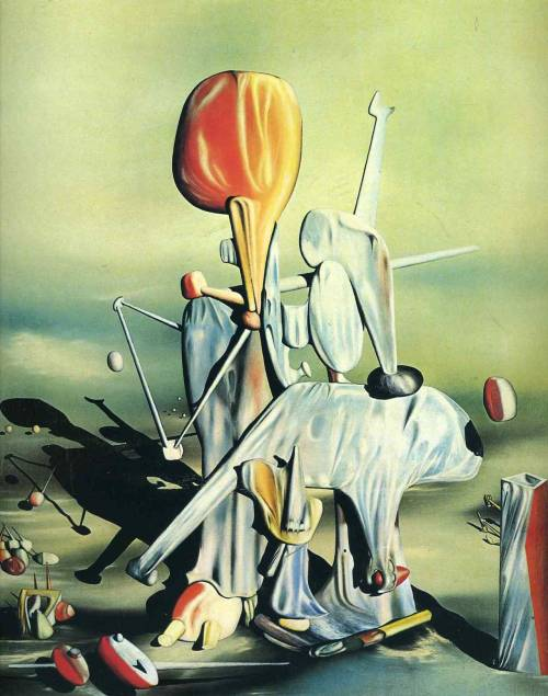 pierrettelafou:  Through Birds Through Fire But Not Through GlassYves Tanguy, 1943