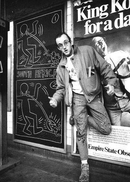 "gqfashion:  Your Morning Shot: Keith Haring ""Nothing is important… so everything is important."""