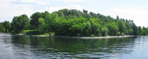 This island situated on upstate New York's Lake Champlain was used as a hospital during the 1814 Battle of Plattsburgh for American and British troops.  Being the nearest island to the ground where actual conflict took place, the dead – some of whom washed up on shore – were packed in rows in a mass grave-site south of the hospital. All but respected officers – who received proper graves – were lumped together in nameless piles.  Only in 1908 were these men, who indeed had names and distinct identities, commemorated by way of a Congress-commissioned granite obelisk. Although, no one's gone so far as to memorialize these men individually.