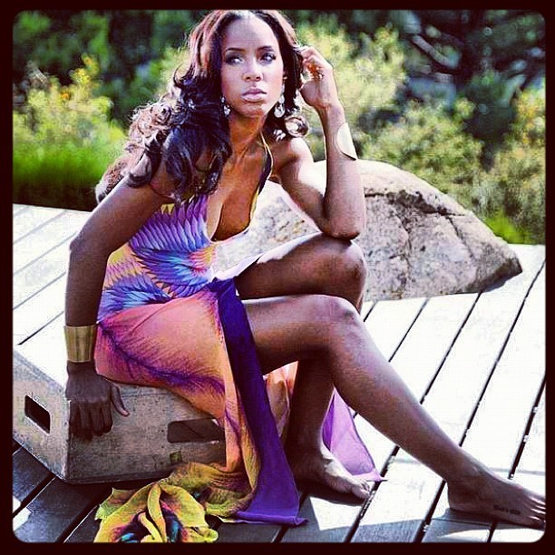 Miss Kelly Rowland (Taken with Instagram)