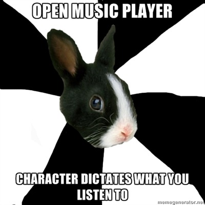 fyeahroleplayingrabbit:  I can't be the only one this happens to, right?